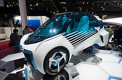Toyota FCV Plus hydrogen fuel-cell concept car at Paris Motor Show 2016