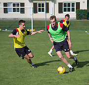 Dundee&rsquo;s Kevin Holt aand Cammy Kerr  - Day 5 of Dundee FC pre-season training camp in Obertraun, Austria<br /> <br />  - &copy; David Young - www.davidyoungphoto.co.uk - email: davidyoungphoto@gmail.com