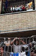 """Casa circondariale di Rebibbia, sezione Nuovo Complesso in occasione della manifestazione sportiva """"Vivicittà"""" organizzata dalla UISP - Rebibbia detention center section New Complex at the sporting event """"Vivicittà"""" organized by UISP."""