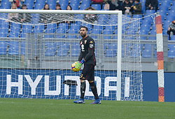 January 19, 2019 - Rome, Italy - Salvatore Sirigu during the Italian Serie A football match between A.S. Roma and F.C. Torino at the Olympic Stadium in Rome, on january 19, 2019. (Credit Image: © Silvia Lore/NurPhoto via ZUMA Press)