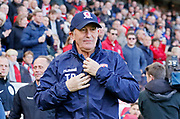 Middlesbrough Manager Tony Pulis during the EFL Sky Bet Championship match between Middlesbrough and Nottingham Forest at the Riverside Stadium, Middlesbrough, England on 6 October 2018.