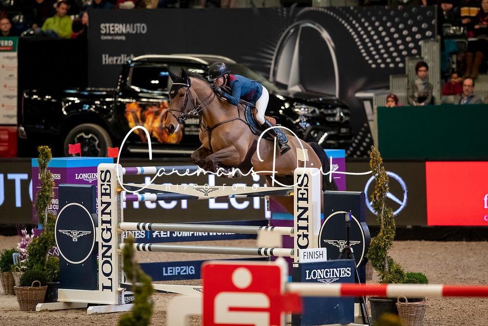 Baryard-Johnsson Malin, SWE, H&M Indiana<br /> Leipzig - Partner Pferd 2019<br /> © Hippo Foto - Stefan Lafrentz