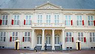 DEN HAAG - Voorbereidingen bij paleis nooreinde voor prinsjesdag volgende week dinsdag
