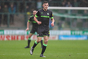 Forest Green Rovers Paul Digby(20) during the EFL Sky Bet League 2 match between Yeovil Town and Forest Green Rovers at Huish Park, Yeovil, England on 8 December 2018.