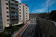 May 25-29, 2016: Monaco Grand Prix. Fernando Alonso (SPA), McLaren Honda leads Nico Rosberg and Nico Hulkenberg