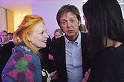 PAUL MCCARTNEY; VIVIENNE WESTWOOD; Told, The Art of Story by Simon Aboud. Published by Booth-Clibborn editions. Book launch party, <br /> St Martins Lane Hotel, 45 St Martins Lane, London WC2. 8 June 2009