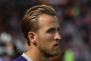 Tottenham Hotspur forward Harry Kane during the Barclays Premier League match between Sunderland and Tottenham Hotspur at the Stadium Of Light, Sunderland, England on 13 September 2015. Photo by Simon Davies.
