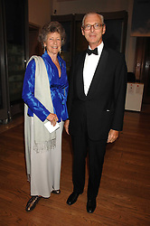 SIR TIM & LADY SAINSBURY at a gala dinner for the Theatre Royal Bury St.Edmunds to celebrate the near completion of the restoration of the Grade 1 listed theatre, held at the Royal Academy, Piccadilly, London on 9th July 2007.<br />