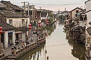 Life along Shantang canal in Suzhou, China.