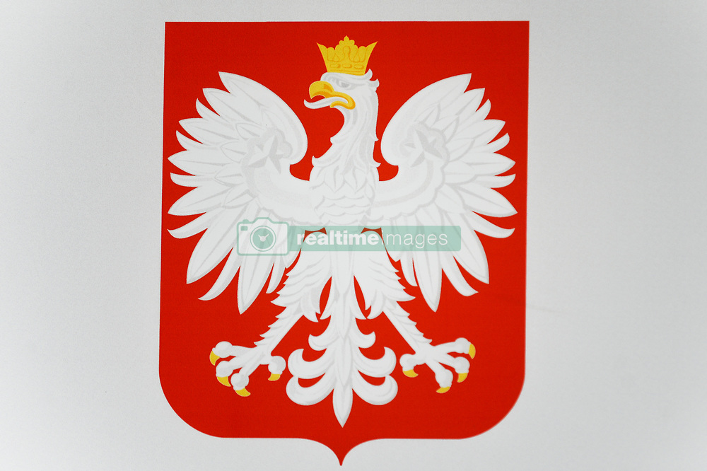October 5, 2018 - Krakow, Poland - The National symbol of Poland is seen during the Law 4 Growth Forum at ICE Krakow Congress Center. (Credit Image: © Omar Marques/SOPA Images via ZUMA Wire)