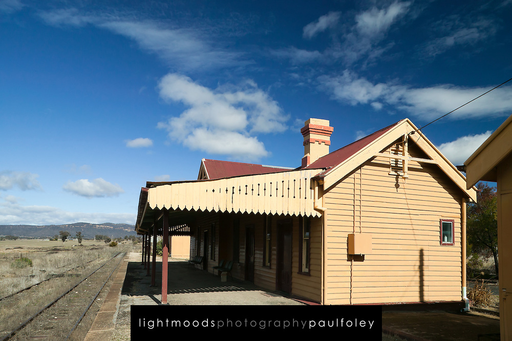Abandoned Railway Station, Country NSW, Australia