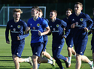 Scotland Training Session - 06 November 2017