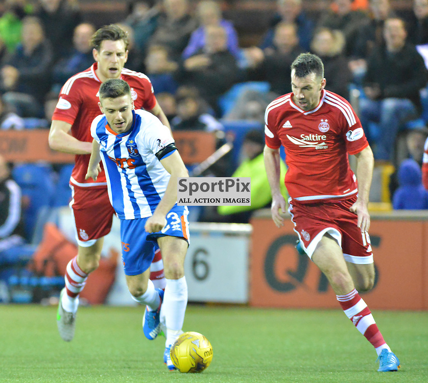 Greg Kiltie of Killie tries to push his team forwward against Aberdeen....(c) BILLY WHITE | SportPix.org.uk