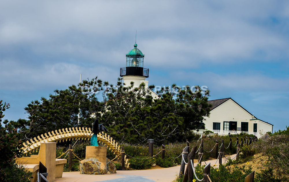 Old Point Loma Lighthouse At Cabrillo National Monument