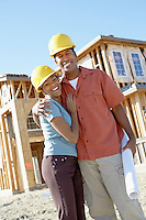 Couple Having Their House Built