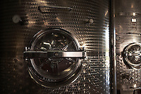 Wine vats close-up