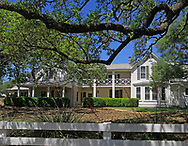 The Lyndon Johnson home at the LBJ Ranch near Johnson City Texas.<br />