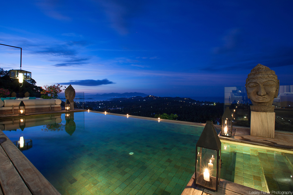 Swimming pool at Villa Belle a Luxury, private villa on Koh Samui, Thailand