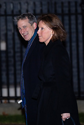 © Licensed to London News Pictures. 07/01/2019. London, UK. Education Secretary Damian Hinds (left) arriving in Downing Street to attend a drinks reception in Number 10. British Prime Minister Theresa May is currently trying to persuade MPs to back her Brexit withdrawal deal. MPs will be debating the issue this week, with the postponed vote taking place on Tuesday 15th January. Photo credit : Tom Nicholson/LNP