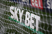 Sky Bet advertising during the EFL Sky Bet Championship match between Burton Albion and Queens Park Rangers at the Pirelli Stadium, Burton upon Trent, England on 13 January 2018. Photo by John Potts.