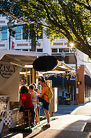 Food carts in Portland, Oregon.