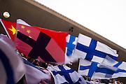 April 15-17, 2016: Chinese Grand Prix, Shanghai, Kimi Raikkonen (FIN), Ferrari fans