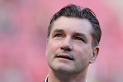 25.03.2012, Rhein Energie Stadion, Koeln, GER, 1. FBL, 1.FC Koeln vs Borussia Dortmund, 27. Spieltag, im Bild Michael ZORC (Manager/ Sportdirektor BVB Borussia Dortmund)Portrait blickt nach oben // during the German Bundesliga Match, 27th Round between 1.FC Koeln and Borussia Dortmund at the Rhein Energie Stadion, Koeln, Germany on 2012/03/25. EXPA Pictures © 2012, PhotoCredit: EXPA/ Eibner/ Gerry Schmit..***** ATTENTION - OUT OF GER *****