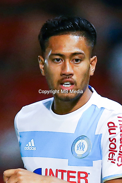 Bill Tuiloma of Marseille during a friendly match between Girona and Marseille at Stade de Montivili on August 3, 2016 in Girona, Spain. (Photo by Manuel Blondeau/Icon Sport)