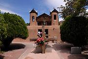 Santuario de Chimayo old church, Chimayo, New Mexico,USA