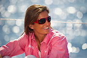 Catalina Rodriguez, CAMPER guests go for a sail aboard CAMPER with Emirates Team New Zealand in Mallorca. 20/9/2011