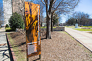 The Civil Rights trail in downtown Birmingham, Alabama