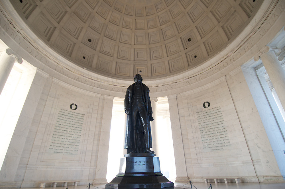 Jefferson Memorial, Washington DC, Thomas Jefferson Memorial, Union Station