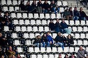 ALKMAAR - 26-10-2016, AZ - FC Emmen, AFAS Stadion, 1-0 veel lege stoeltjes, supporters.