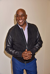 Ainsley Harriott at a preview of the 'From Selfie To Self-Expression' exhibition at The Saatchi Gallery, Duke Of York's HQ, King's Road, London, England. 30 March 2017.