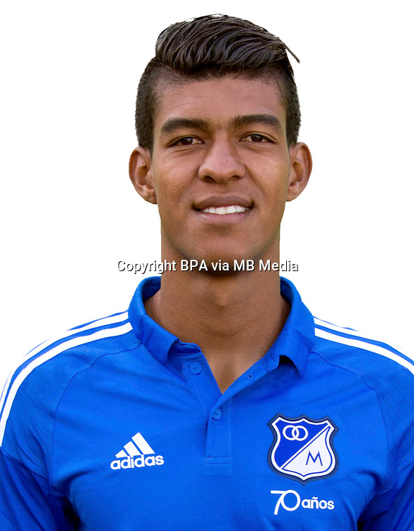 Colombia League - Liga Aguila 2015-2016 - <br /> Millonarios Futbol Club - Colombia / <br /> Jonathan Yulian Mejia Chaverra