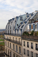 Rooftop in Paris France