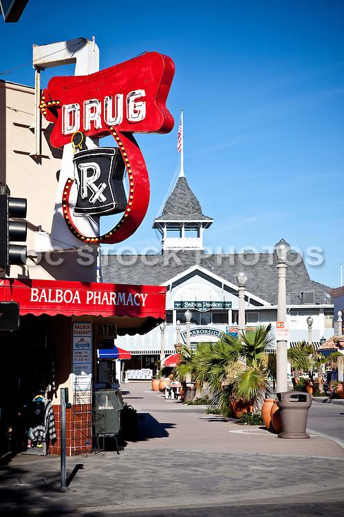 Balboa Pharmacy Newport Beach California