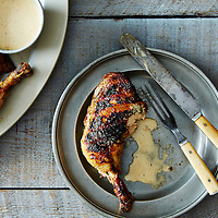 BBQ Chicken with Alabama White BBQ Sauce