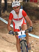 Sykkel 27. august 2004, OL Athen, terrengsykling, terrengsykkel, Gunn-Rita Dahle (NOR) <br />tok gull<br />Foto Raphael Nadler/Digitalsport