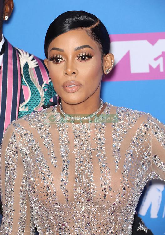 August 21, 2018 - New York City, New York, USA - 8/20/18.Keyshia Ka''Oir at the 2018 MTV Video Music Awards held at Radio City Music Hall in New York City..(NYC) (Credit Image: © Starmax/Newscom via ZUMA Press)