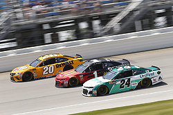 July 1, 2018 - Joliet, Illinois, United States of America - Jamie McMurray (1) battles for position during the Overton's 400 at Chicagoland Speedway in Joliet, Illinois  (Credit Image: © Justin R. Noe Asp Inc/ASP via ZUMA Wire)