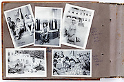 vacation 1949 Shields England photo album page