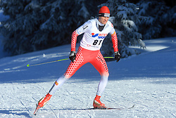 Slovenian cross-country skier Martin Rupnik at 10th OPA - Continental Cup 2008-2009, on January 17, 2009, in Rogla, Slovenia.  (Photo by Vid Ponikvar / Sportida)