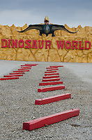 Entrance to Dinosaur World, Cave City, KY