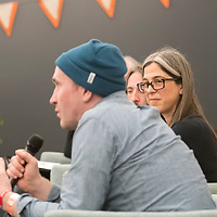 Treefort 2018, Storyfort, copyright panel discussion with Boise State director of trademark licensing and enforcement, Rachael Bickerton, photo Patrick Sweeney
