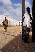 Two men in traditional dress, Obock, Republic of Djibouti