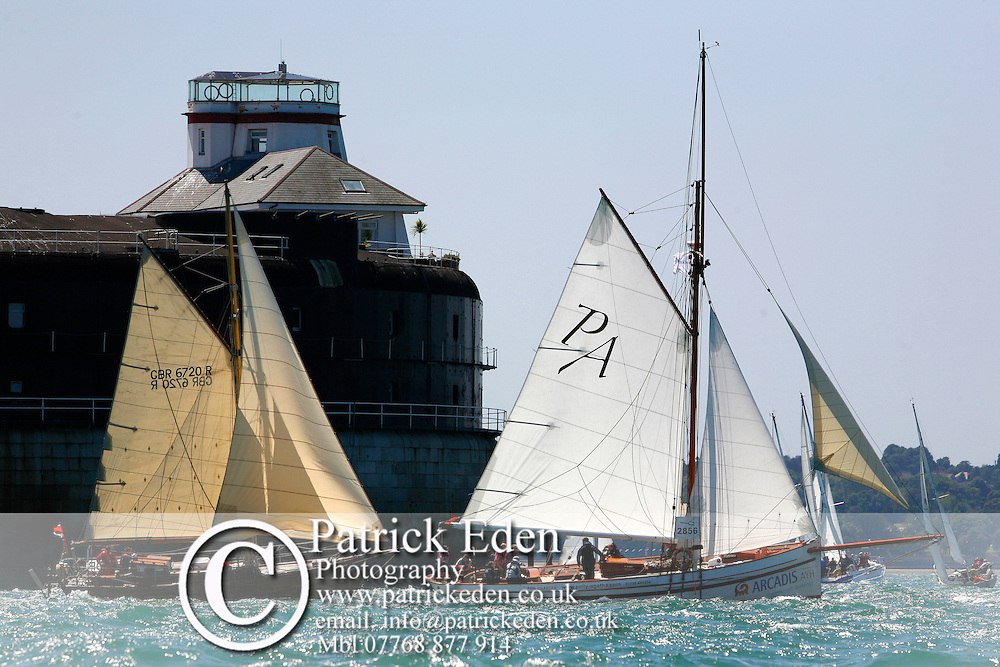 FLEET, RYDE, NO MANS LAND FORT, WANDA, POLLY AGATHA, FORTS, Patrick Eden ©2008, Round the Island Race 2008, UK, Isle of Wight, England, Bear of Britain, Round the Island Race Photographs of the Isle of Wight by photographer Patrick Eden photography photograph canvas canvases