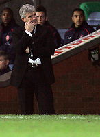 Photo: Paul Thomas.<br />Blackburn Rovers v Arsenal. The FA Cup. 28/02/2007.<br /><br />Mark Hughes, manager of Blackburn.