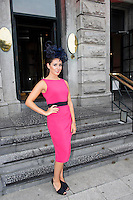 31/07/2014 There was an excellent turnout of fashionable ladies at Hotel Meyrick for their Most Stylish Lady Competition, judged by two of Ireland&rsquo;s leading fashion commentators Sonya Lennon  and Brendan Courtney .  At the event was Emma Scott.<br /> Picture:Andrew Downes