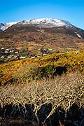 Lergadaghtan Mountain, Donegal, Ireland, beside Slieve League, seen from the rode between Kilcar and Carrick.